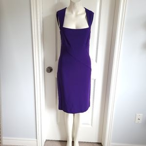 NWT Nicole Miller Structured Seamed Dress